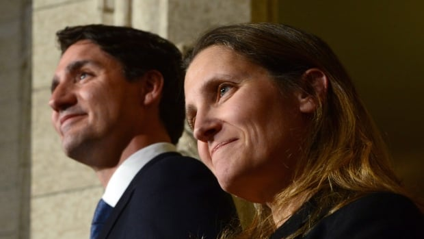 "Chrystia Freeland's described as the right person for the job as Canada braces for what might unfold under Donald Trump's U.S. presidency: a foreign minister with ""a broader and deeper network of alliances than anyone since [Lester B.] Pearson."""