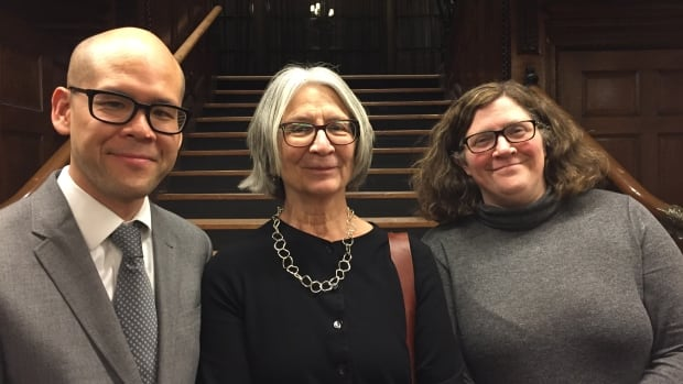 McGill University Prof. Hoi Kong, Val Napoleon, director of the Indigenous law research unit at the University of Victoria, and Hadley Friedland, a professor in Indigenous law at the University of Alberta, co-taught the one-week course on Indigenous law at McGill in Montreal.