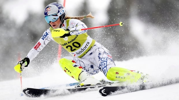 After undergoing rehab due to a broken arm, Lindsey Vonn says she's 'excited' to be competing again.