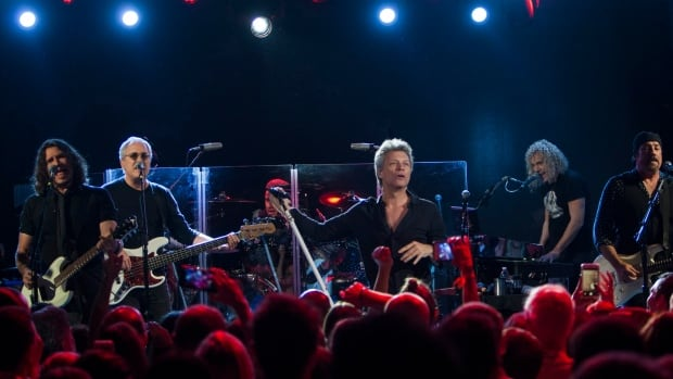 Bon Jovi, seen performing in Miami Beach, Fla., in early December, is holding a contest to search for opening acts for its upcoming tour.