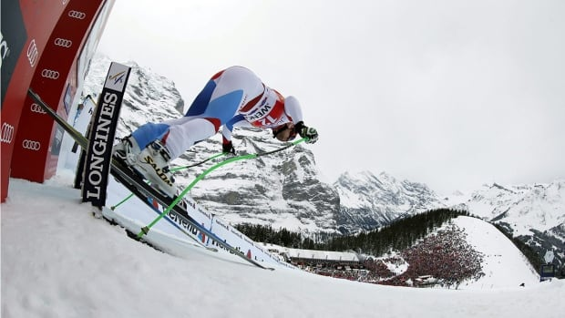 To get from the start gate to the tens of thousands of fans waiting in the finish area, Lauberhorn downhillers must navigate two-and-a-half minutes of high-speed skiing through breathtaking scenery.