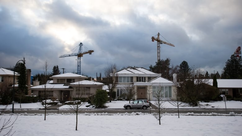 Canadian home prices lending
