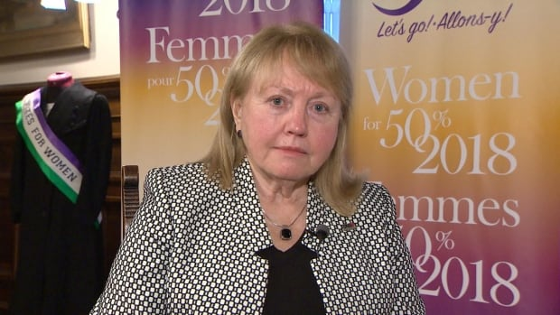 Roxanne Fairweather founded the group Women for 50% with an aim of achieving gender parity in the Brunswick Legislature in 2018.