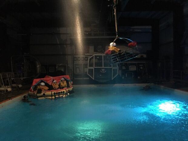 Simulated Plane Crash