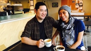 Randy Wong, Kellie Ho of The Hexagon Board Game Cafe