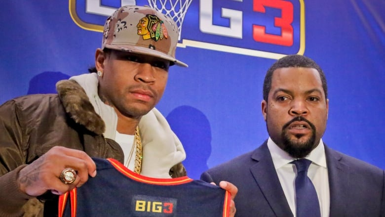 best website b1b1b c529c Ice Cube, Iverson starting 3-on-3 hoops league with former ...