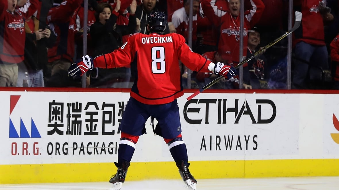 Alex Ovechkin wastes little time notching 1,000th point