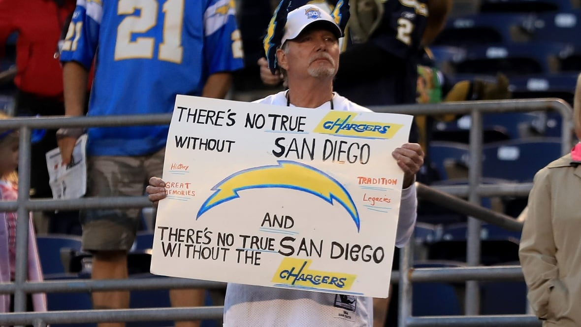 San Diego Chargers to join Rams in L.A.: report