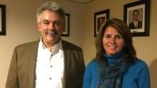 Mike Franklyn and Maureen McLelland