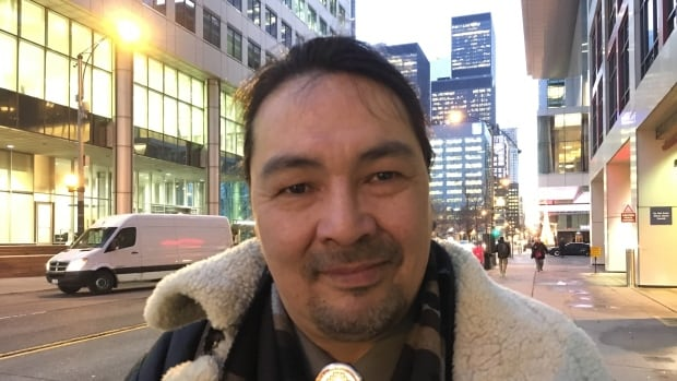 Paul McLeod, who gives skills training to Indigenous entrepreneurs, is excited about the possibility of an Indigenous business district in downtown Toronto. 'When we're helping each other, we build an economic base,' he said.