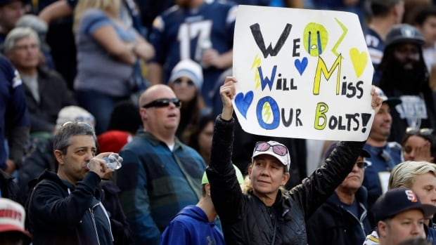 The Chargers are leaving San Diego after more than five decades in the city.