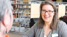 Kym Bohachewski social worker Kitchener Public Library