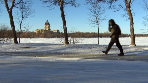 Going for a walk in Regina isn't a lot of fun these days, due to wind chill temperatures in the -30s and -40s.