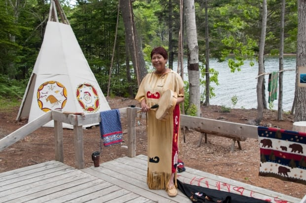 Germain Doucette in Eskasoni