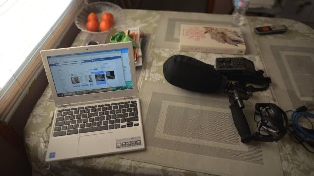 Odette's computer
