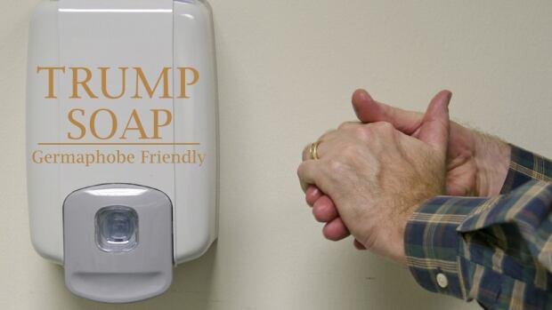 trump sanitizer