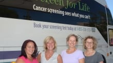 Cancer Screening Bus
