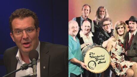 Rick Mercer and Wonderful Grand Band