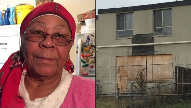 Edna Rose doesn't want to leave her Jane-Finch area apartment complex, even though several of the neighbouring townhomes have been boarded up. The TCH, however, says she'll have to move out next summer.