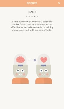 Headspace claim 1