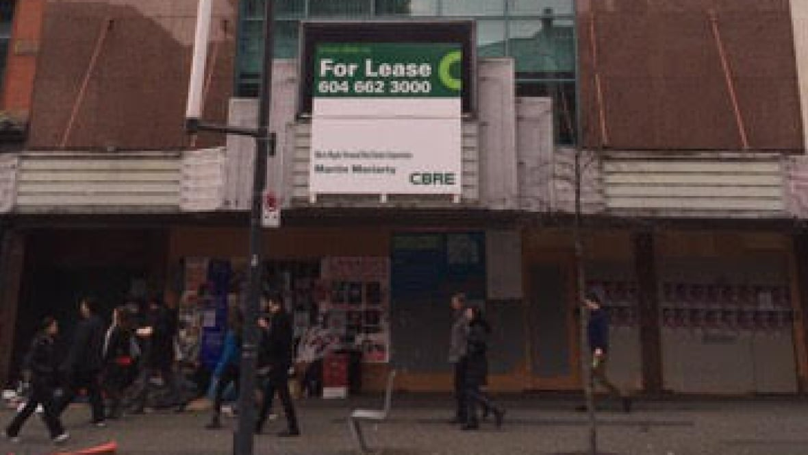 Redevelopment plan proposed for site of former Granville 7 Cinemas