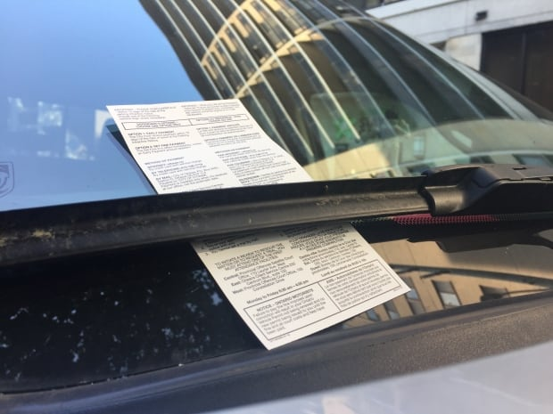 Ottawa bylaw parking ticket