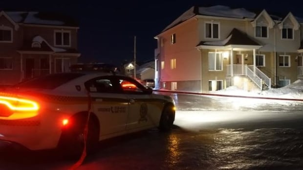 Police found the body of Mylène Laliberté, 24, in a home in Saint-Lin-Laurentides on Friday night.