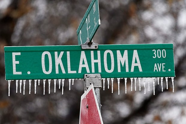 Southern Plains Ice Storm