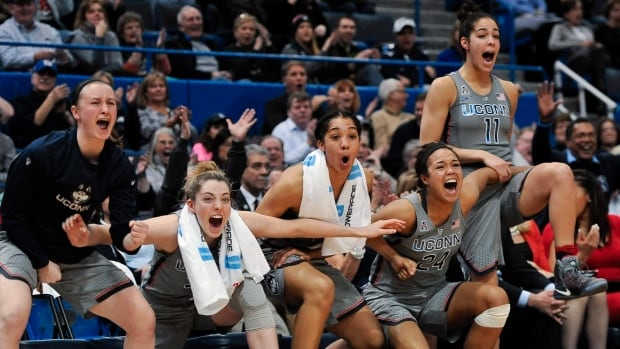 UConn women win their record 91st basketball game in a row