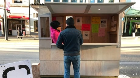 Mobile art gallery disguised as 'lost and found' hits the Granville strip