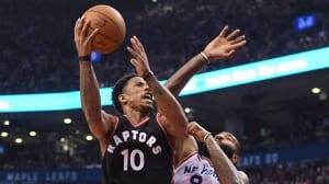 Dominant 3rd quarter lifts Raptors over Knicks
