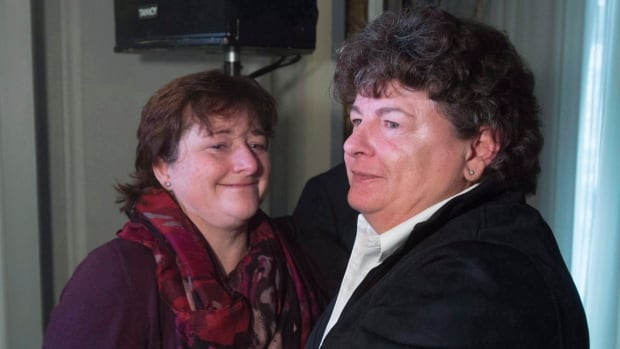 Two lawsuits by former RCMP officers Janet Merlo, left, and Linda Gillis Davidson alleging sexual harassment while employed by the force will proceed as a class action suit after a judge ruled that it would be preferable to forcing the alleged victims to press independent claims.