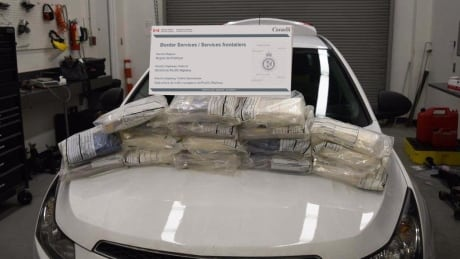 Cocaine bust highlights busy year at Pacific Highway border crossing