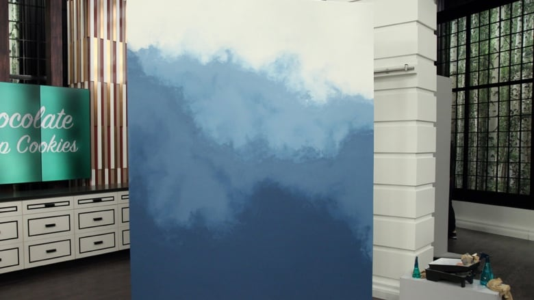Diy Ombre How To Paint An Eye Catching Statement Wall Cbc Life