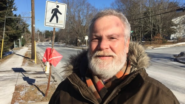 Norm Collins is the president of the Crosswalk Safety Society.