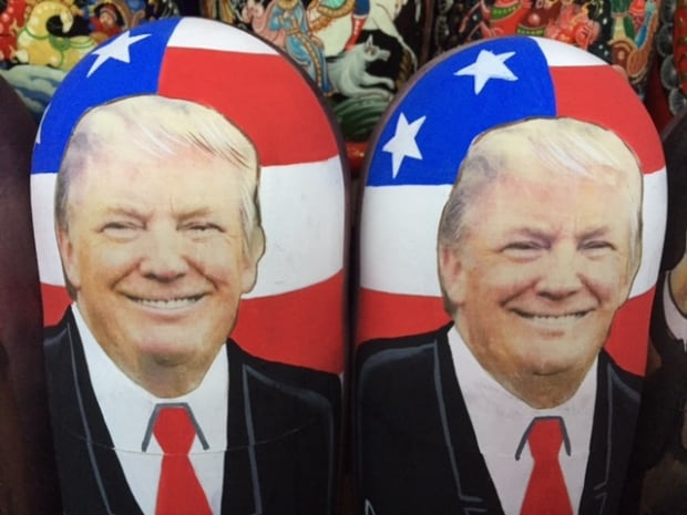 Trump matryoshka dolls
