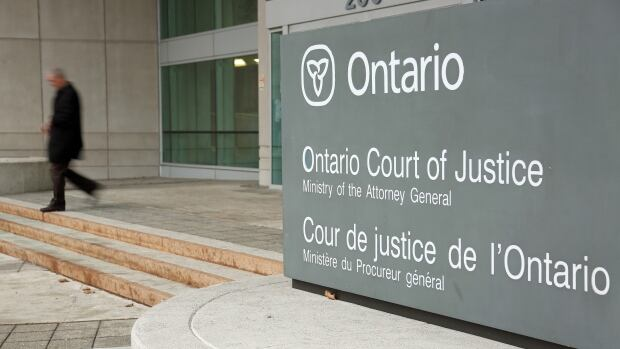 Windsor Ontario Court of Justice.