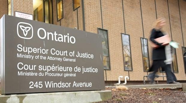 Windsor Superior Court of Justice