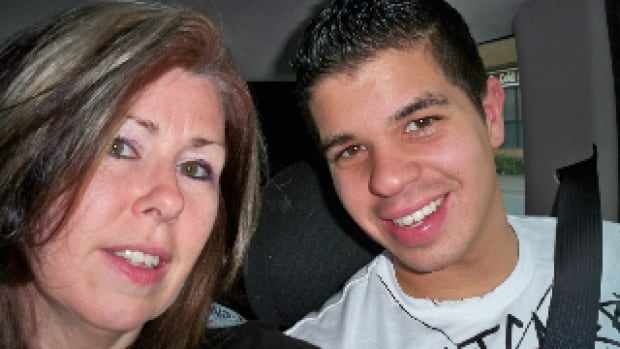 Andra Dunn with her son, Jermaine. Jermaine died of an opioid overdose in 2014.