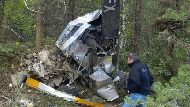 Foleyet crash
