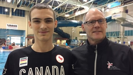 Paralympic swimmer Tyler Mrak, 18, joins Kamloops swim team