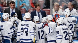 Babcock's Leafs way ahead of schedule