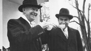 Eisenhower and Nixon 1957
