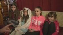 Tori, Tessa, Tia and Trista Cox sister Bay d'Espoir Academy fire
