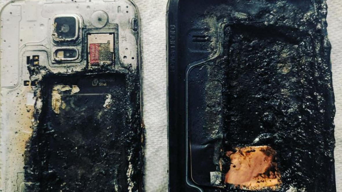 '2-foot high flames': Another Samsung model catches fire