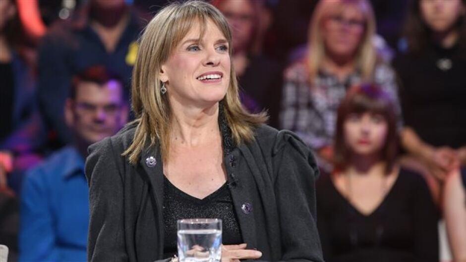 Quebec journalist Josée Blanchette on the hugely-popular Radio-Canada TV program Tout Le Monde en Parle on October 2, 2016.