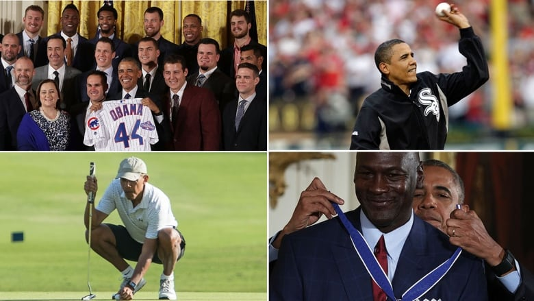 fab4d81d9c6 Barack Obama's most memorable sports moments | CBC Sports