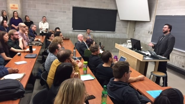 UWinnipeg's Political Science Speakers' Series held panel to discuss president-elect Trump