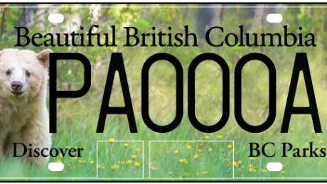 Outdoor enthusiast cries foul over B.C. Parks licence plates