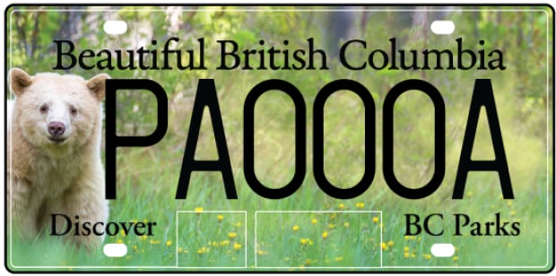 BC license plate